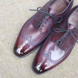 Зеркальная полировка обуви - Глассаж