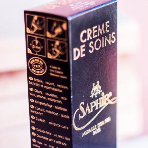 Крем для обуви Creme de Soins — Saphir, 75мл