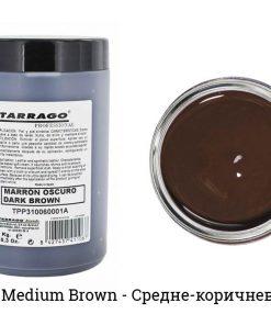 Крем-самоблеск для обуви Self Shine Shoe Cream — Tarrago, средне-коричневый