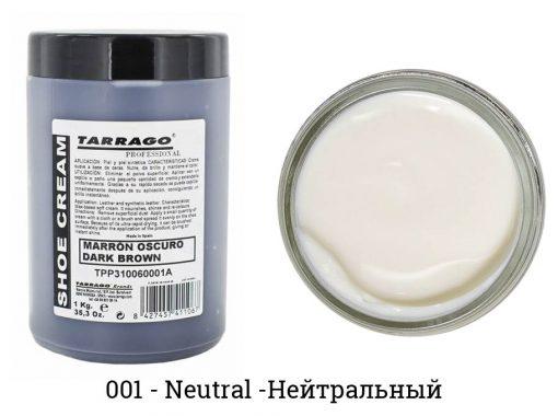Крем-самоблеск для обуви Self Shine Shoe Cream — Tarrago, нейтральный
