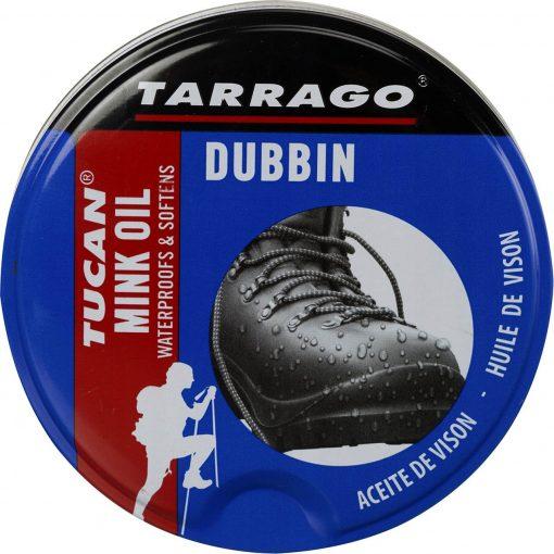 Крем-пропитка для туристической обуви Tucan Mink Oil — Tarrago, 100 мл.