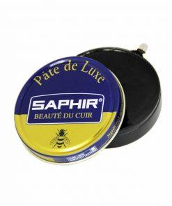 Гуталин для полировки обуви Pate de Luxe — Saphir, 50мл.