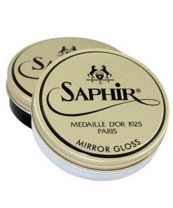 Гуталин для полировки Pate de Luxe Mirror Gloss — Saphir, 75мл.