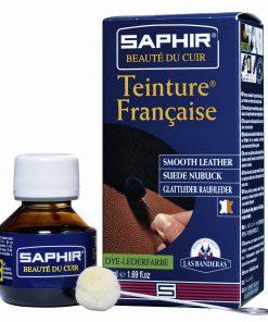 Краска для обуви Teinture Francaise — Saphir, 50мл.
