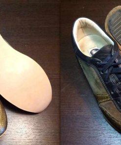 Замена подошвы на кроссовках.